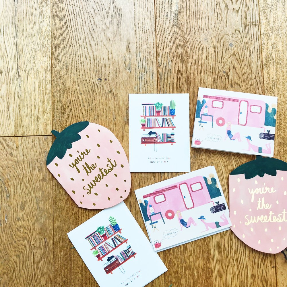 love notes | valentine's day cards | original stationery | gorgeous stationery | ourstorytime.co.uk