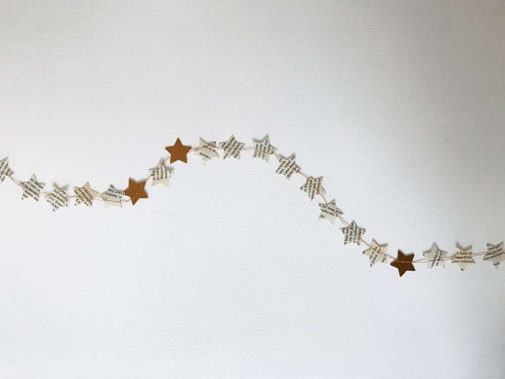 mother's day gifts | star garland | starry nights | stars bunting | stars banner | gift box | gift pox packaging | curated gifts | gift ideas | mother's day gift ideas | natural packaging | simple packaging | beautiful packaging | ourstorytime.co.uk