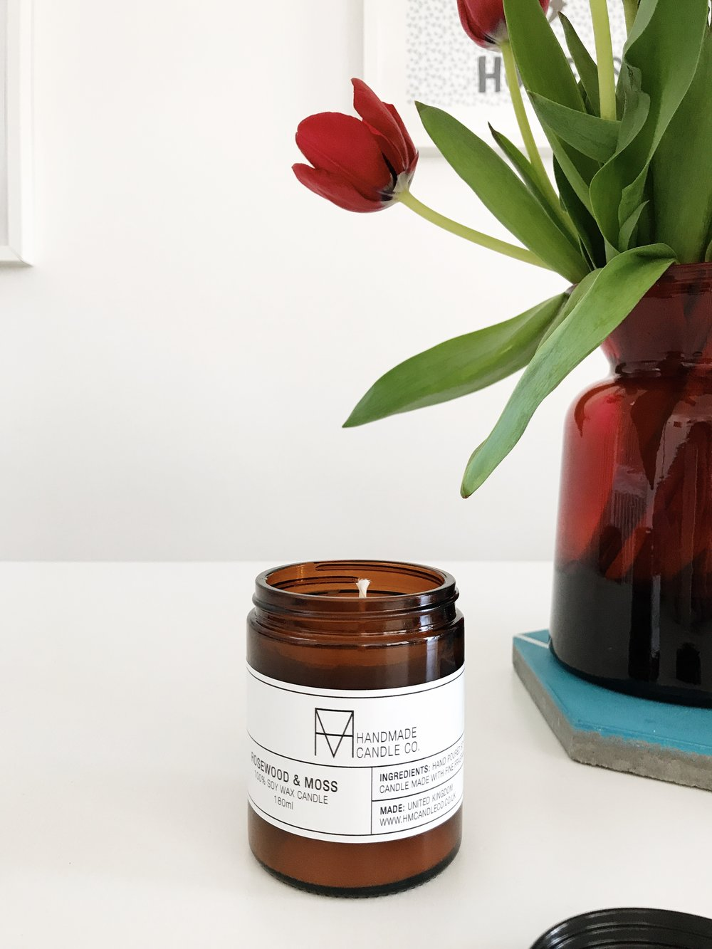 mother's day gifts | mother's day presents | natural soy wax candle | candle jar | mother's day small gift | natural candle | ourstorytime.co.uk