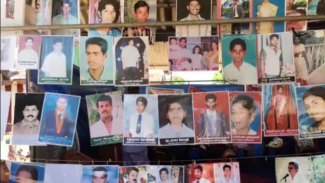 VIDEO: Searching for Sri Lanka's Disappeared    Protesters are demanding to know what happened to the estimated 100,000 people who vanished during the war.