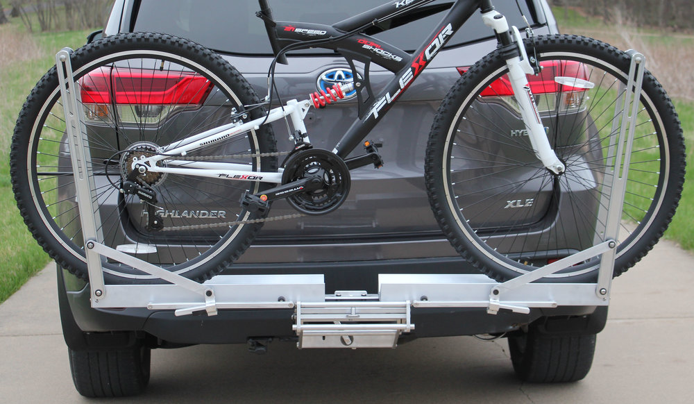 Quik Rack Mach 2 -  Single Bicycle Carrier with 29 X 2.1 Wheels - Picture #1