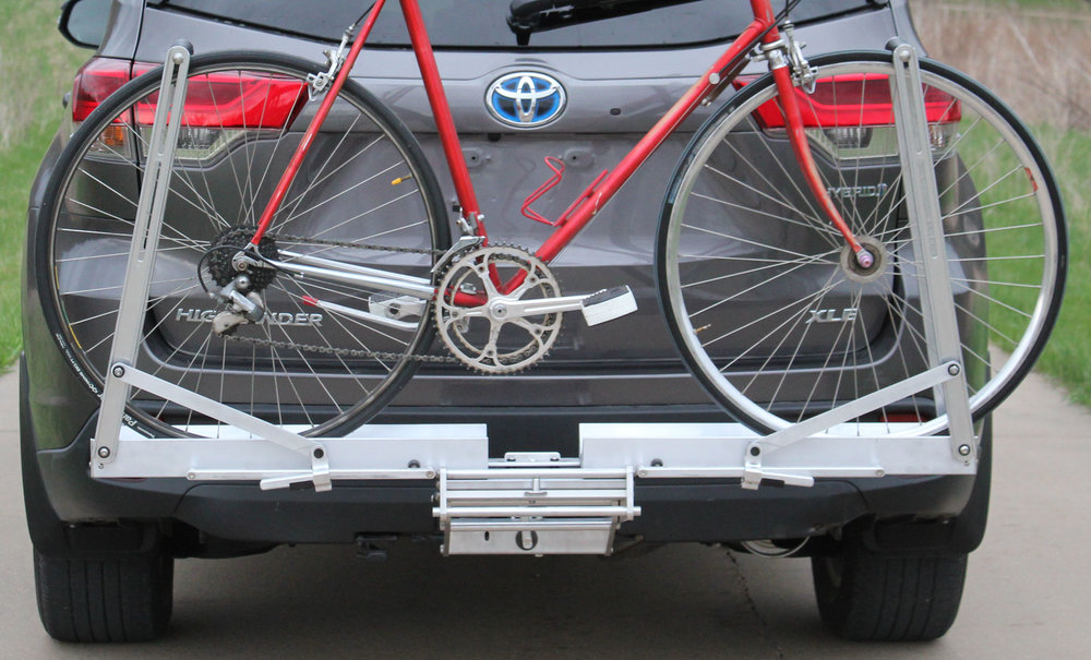 Quik Rack Mach 2 -  Single Bicycle Carrier with 700-C X 25 Wheels - Picture #2