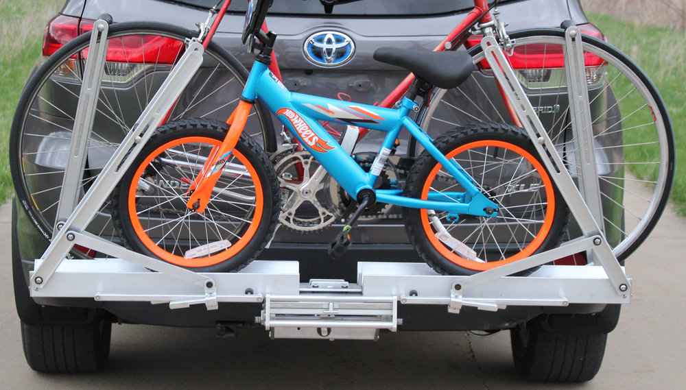 Quik Rack Mach 2 -  Road Bike and 16 inch kids bike - can accommodate any wheel size from 12 - 29 inch wheels - Picture #7