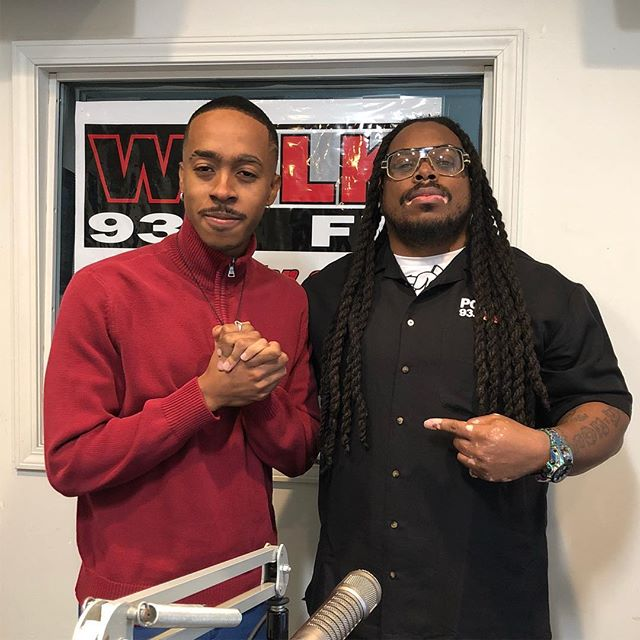 "Media day with : @937wblk The people's station. my hometown radio station 💸 song: ""Shake"" on trap adventure 1 - www.deanchatham.com"