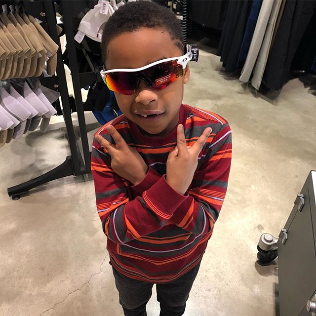 Yea yea he's the coolest 6 year old out there but remember he gets it from his big cousin 😎 #kidGOAT #chancetheprodigy