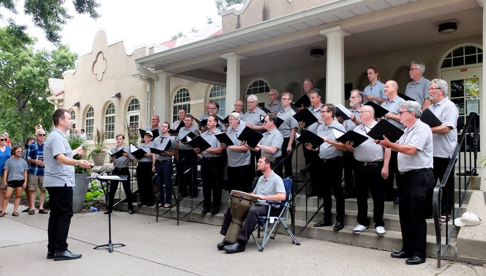 Loring Park Art Festival 2019 - For the third straight year Apollo will sing at the annual Art Festival in beautiful Loring Park in downtown Minneapolis. We will perform Saturday, July 28 at 1:15 pm and again at 2:15 pm, with a 30 minute break between sets.