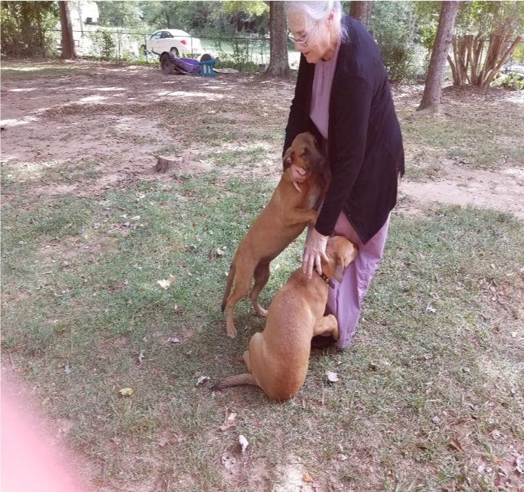 Disabled Senior Taking Care of Son's (in Jail) Dogs