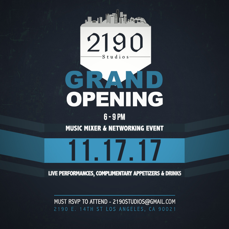 November 17 - Grand Opening Mixer & Networking Event