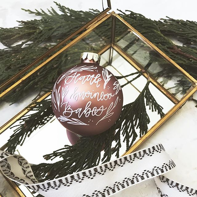 Anyone else have their tree up?🎄🎁 . Add customized ornaments to them! We are so excited to have @rjcalligraphyco as a vendor at our upcoming event next Wednesday, November 28th! She will have customizable glass ball ornaments and wood slices! DM Rachel to preorder as well!🎀 . Don't forget to grab your early bird ticket to Community & Collaboration @tacomaartscenter on November 28th, 6pm-9pm! . Speaking of Christmas! We are also so excited for @enchantsea to open this week! If you know me, you know I love my dog and try to bring him to everything I can! Bark the herald angels sing! 🐶 Did you know you can bring your dog to Enchant Christmas this season? Head over to their profile to see the amazing events they have going on all holiday season! #enchantambassador
