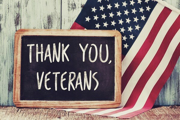 Happy Veterans Day!  Thank you for your service and sacrifice today & everyday! 🇺🇸