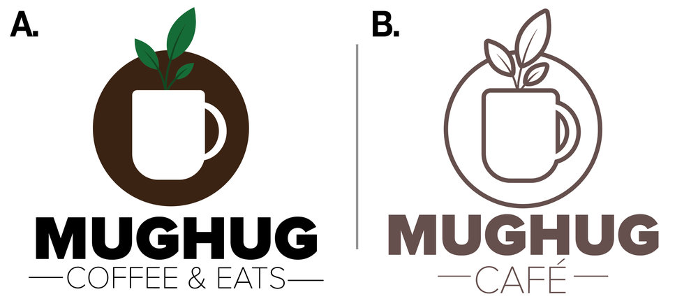 Mug Hug Coffee - Logo Concepts