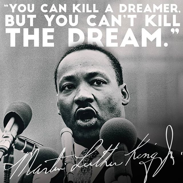 Today, we celebrate the life, legacy & dream of a great man. Happy Martin Luther King Jr. Day. #ihaveadream #MLK #MLKday #MLKday2019