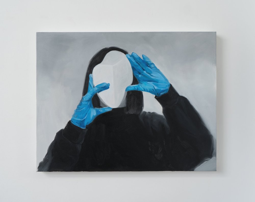 Blue Gloves 3