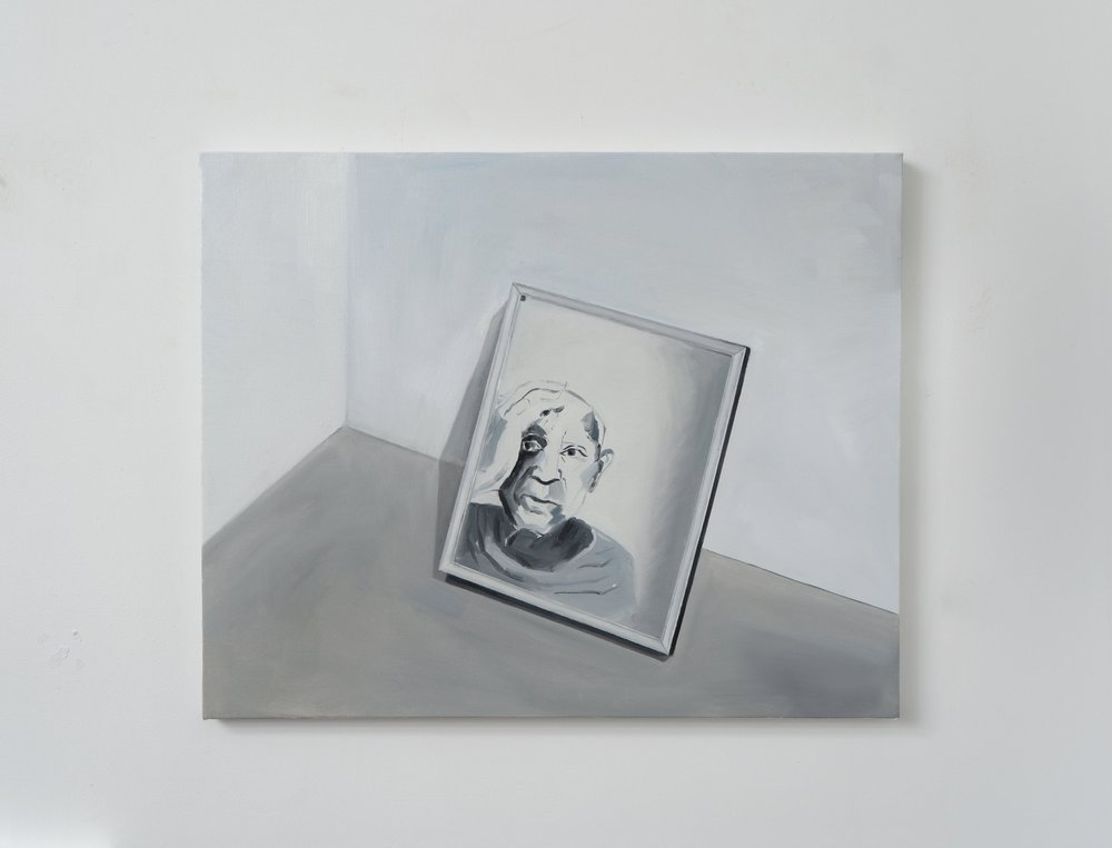 Picasso On The Mirror