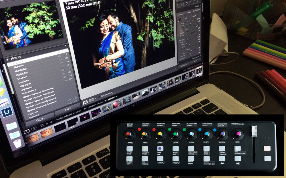 Interfacing Lightroom with Behringer X-Touch Mini MIDI Controller