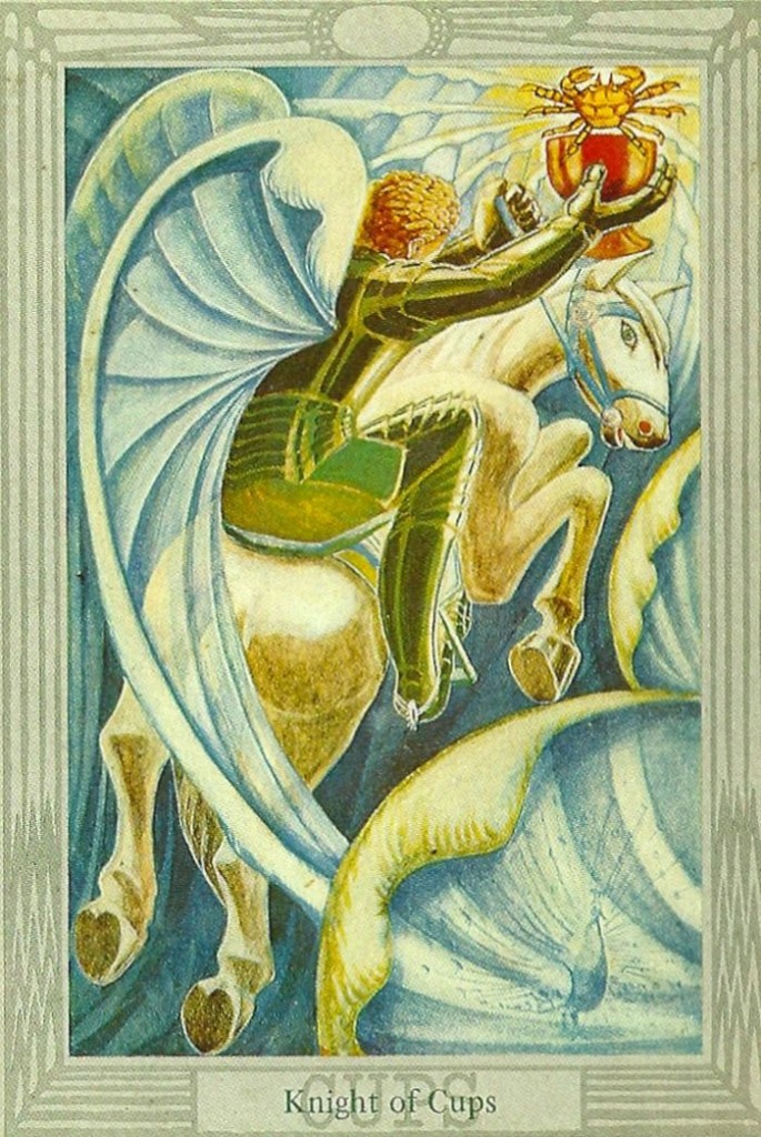 Thoth Tarot: Knight of Cups