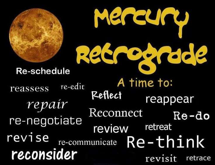 Retrograde meanings