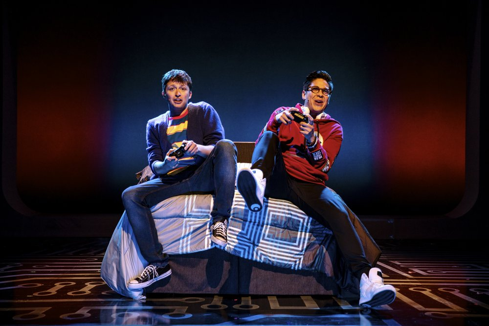 Will Roland as Jeremy and George Salazar as Michael.  Photo Credit: Maria Baranova