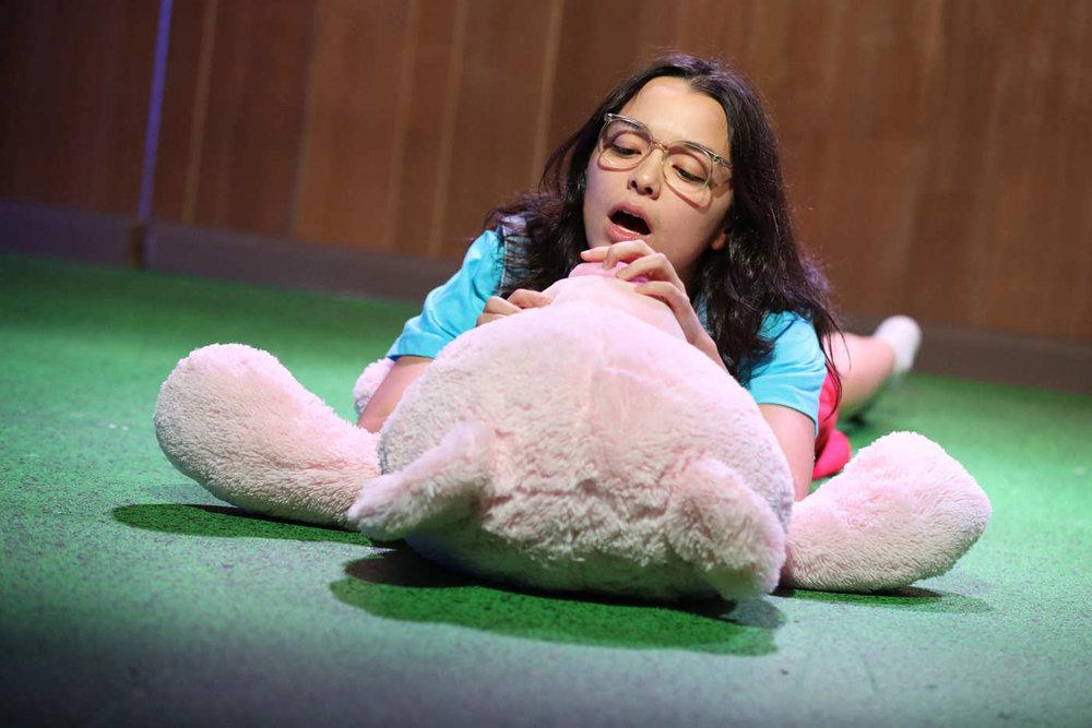 Midori Francis as Kyeoung.  Photo Credit: Joan Marcus