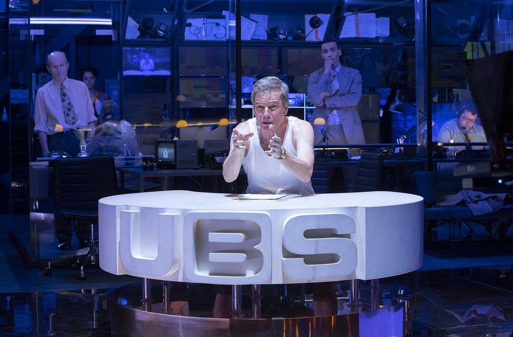 Bryan Cranston as Howard Beale. Photo Credit: Jan Versweyveld.