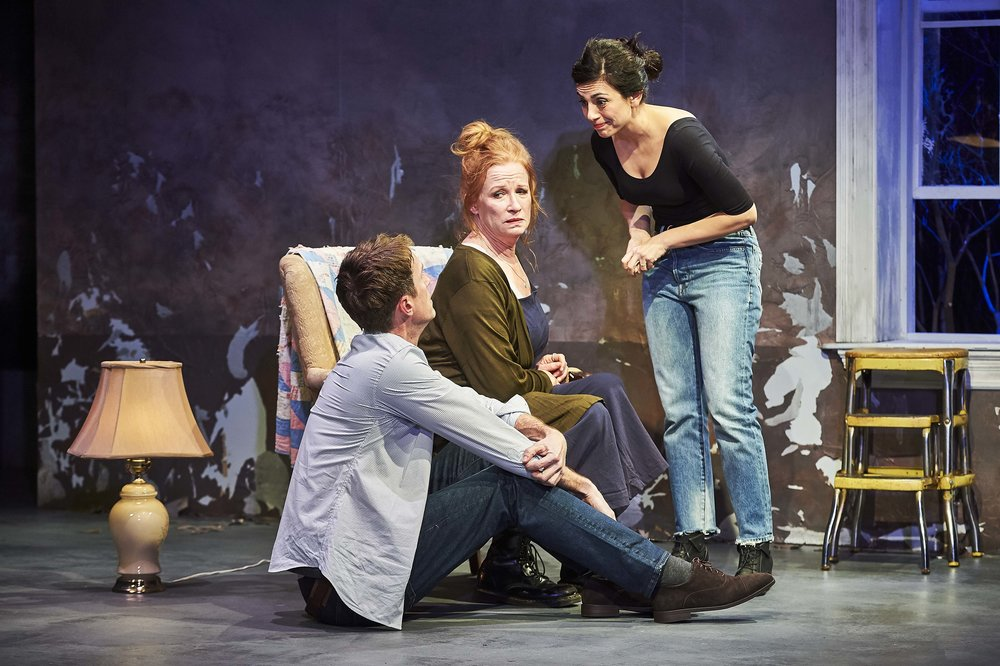Adam Harrington, Johanna Day, and Marjan Neshat. Photo Credit: Robert Altman.