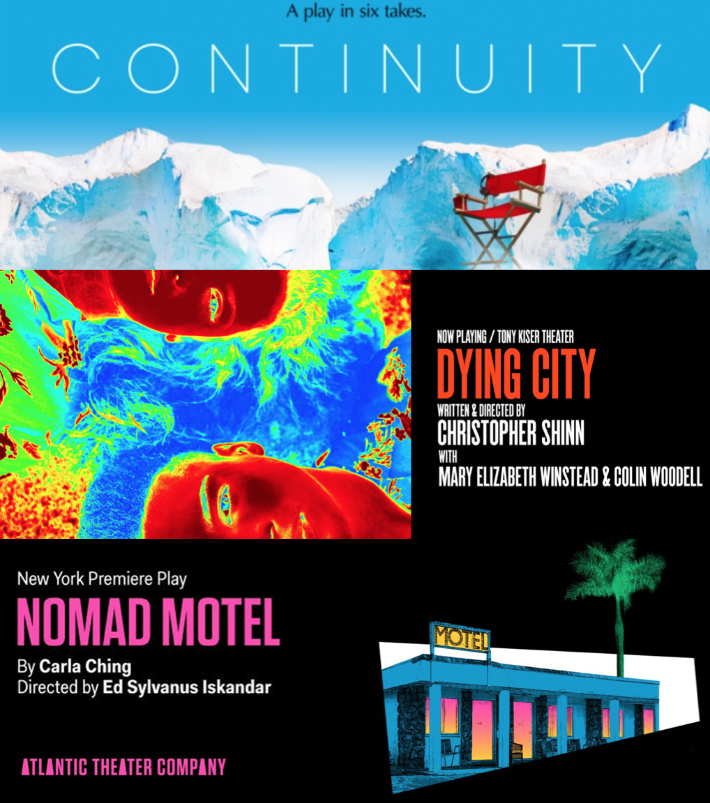 "REVIEWS: ""Continuity"", ""Dying City"", and ""Nomad Hotel"