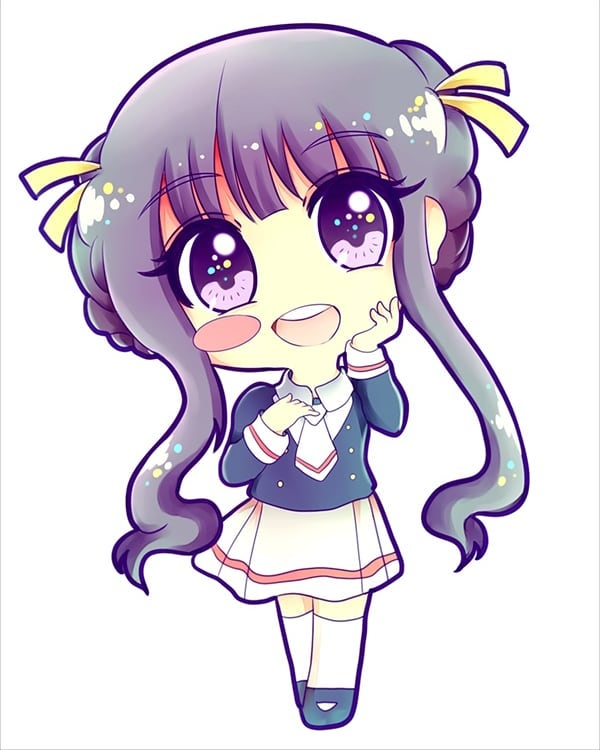 Tomoyo commission for my friend Susie! ♡♡ #cardcaptorsakura #ccs #fanart