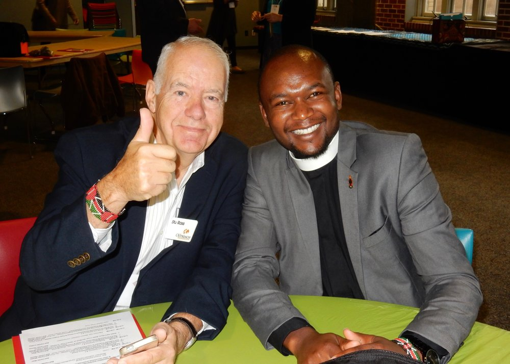 Stu Ross and Rev. Kamau Thairu
