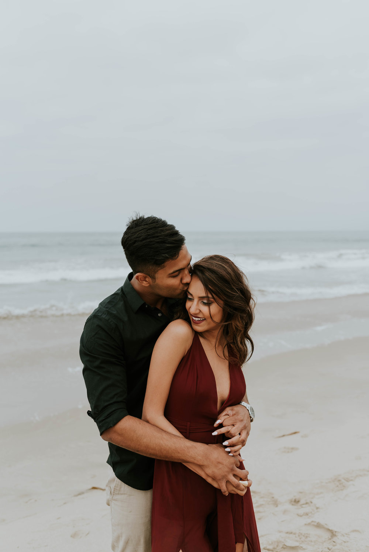 Santa Monica Beach Couples Shoot Neha + Amit