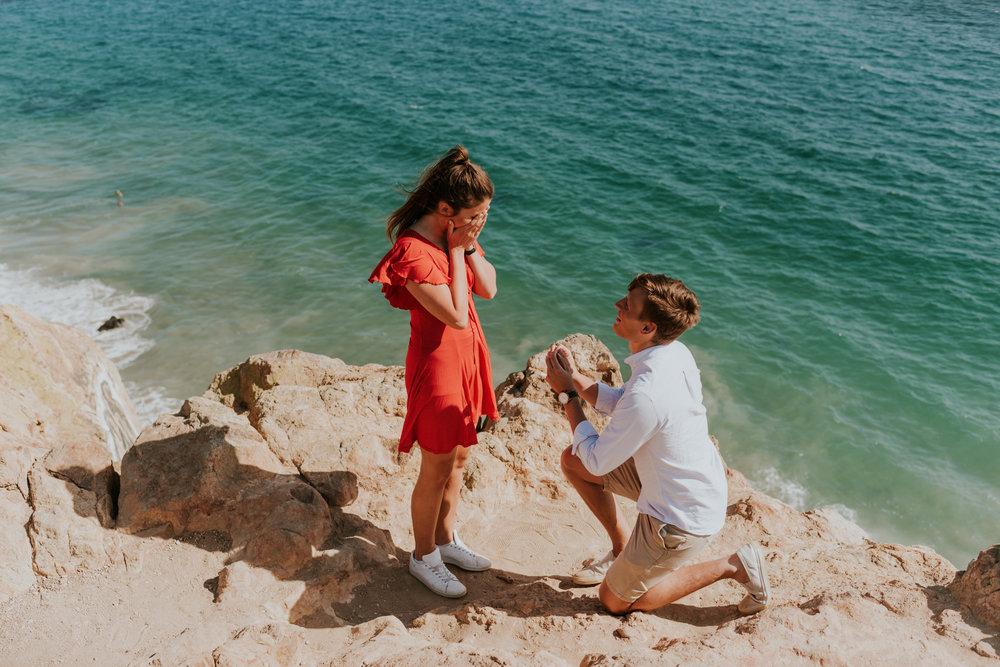 Point Dume Proposal Mason + Miranda