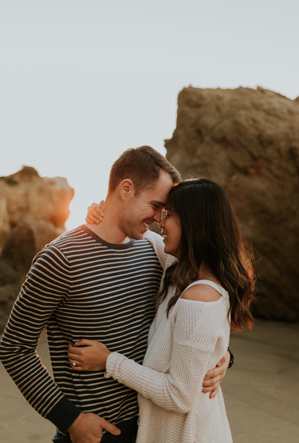 El Matador Beach Engagement Session Eryn + Matt