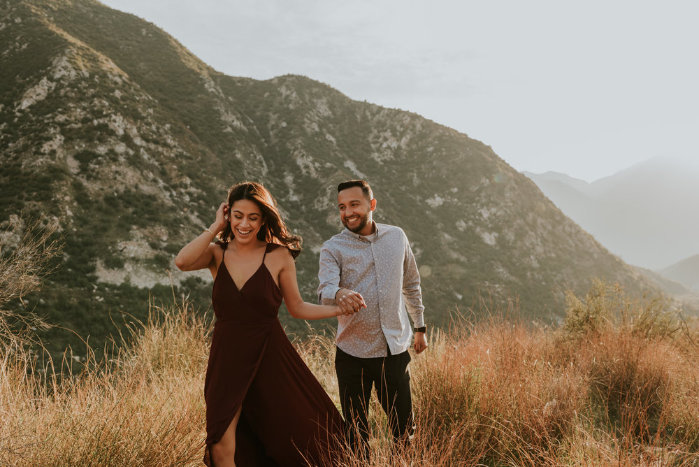 Angeles National Forest Mountain Engagement Session