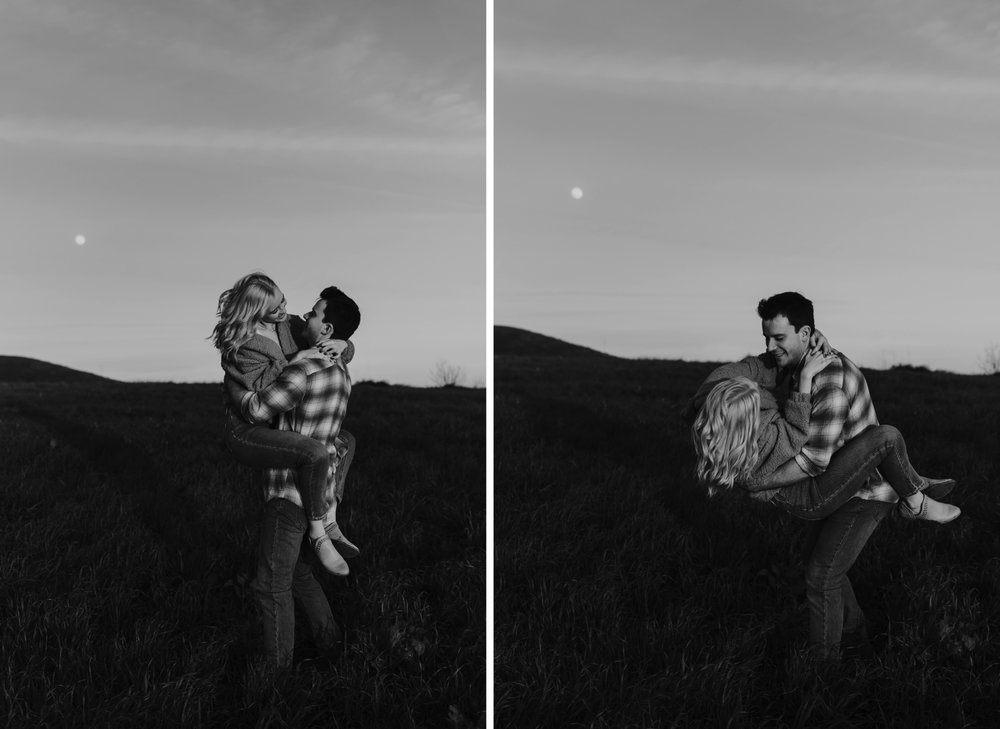 Ascot Hills, Los Angeles Couples Engagement Session