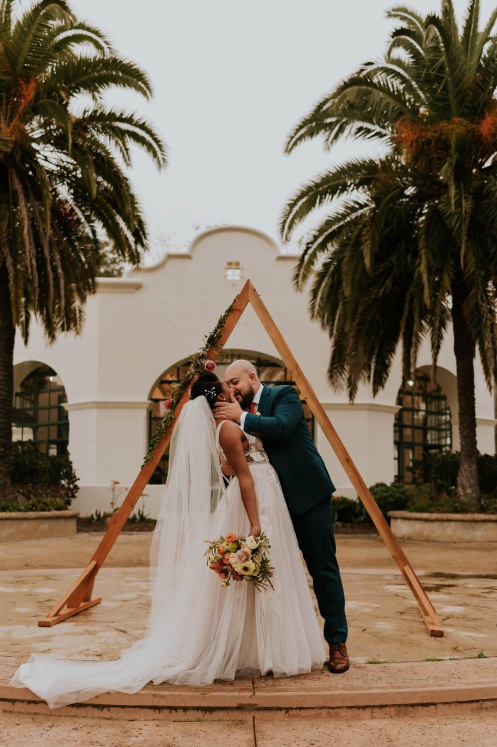 Santa Barbara Wedding at the Carousel House   Carrie Rogers Photography