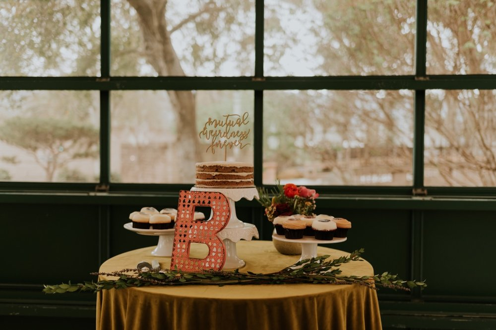 Santa Barbara Wedding at the Carousel House   Reception Details   Wedding Cake Table   Carrie Rogers Photography