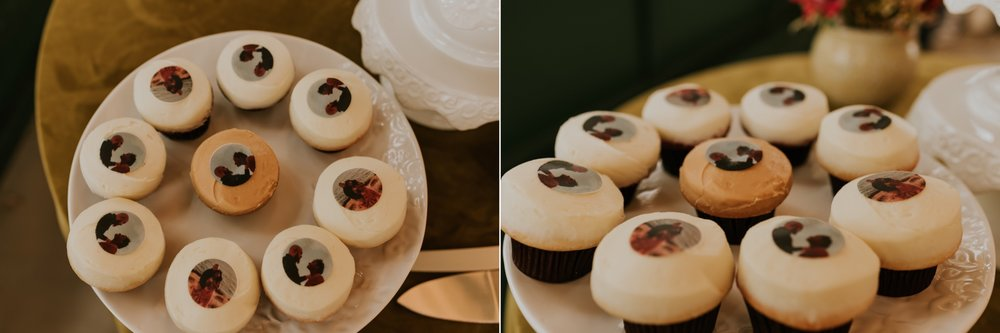 Santa Barbara Wedding at the Carousel House   Reception Details   Wedding Cupcakes   Carrie Rogers Photography