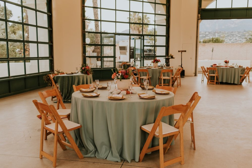 Santa Barbara Wedding at the Carousel House   Reception Details   Carrie Rogers Photography