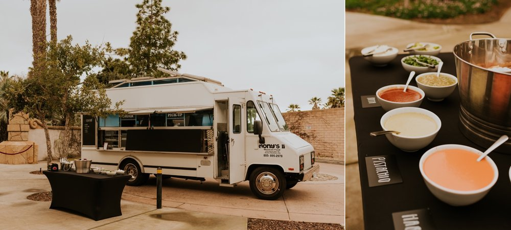 Santa Barbara Wedding at the Carousel House   Food Truck Reception   Carrie Rogers Photography