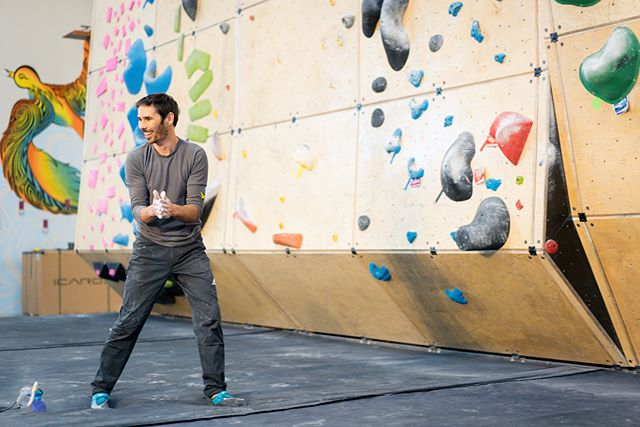 Good times hanging with @kjorgeson at @cruxcc . . The Dawn Wall film had its N. American premiere in lil ol #ATX - maybe there is a strong climbing scene here? . . Either was #sxsw makes the magic happen 💥 . . 📷: @travperk_photo