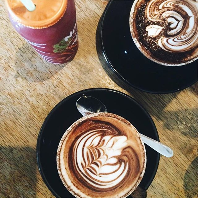 See you tomorrow for some on point coffee contrasting  Exhibit A 💥🔙 📷: @vegangrool  #pennyfarthingespresso #melbournecoffee #espresso #cafe #highstnorthcote