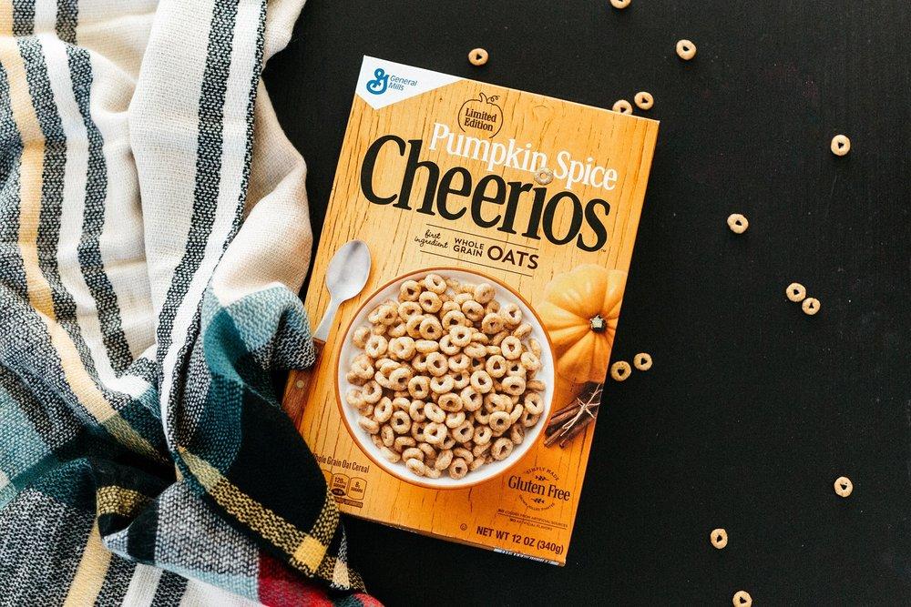 Photo credit:  Cheerios