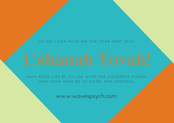 Happy Jewish New Years! - by Dr. Abi Weissman