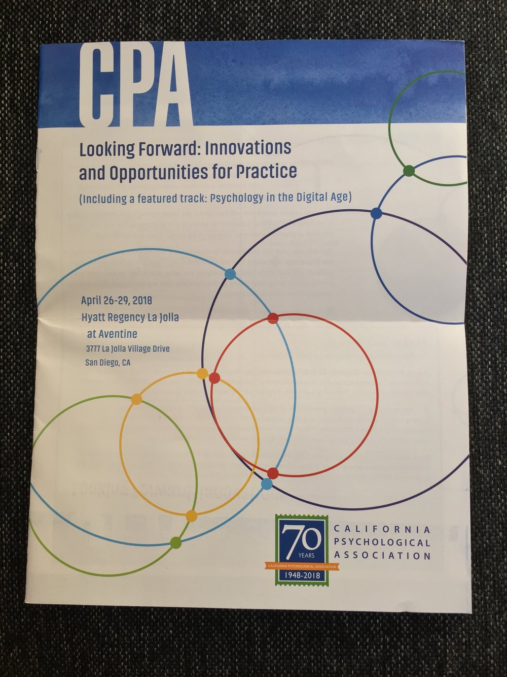 I love the rainbow design. - Yay CPA!