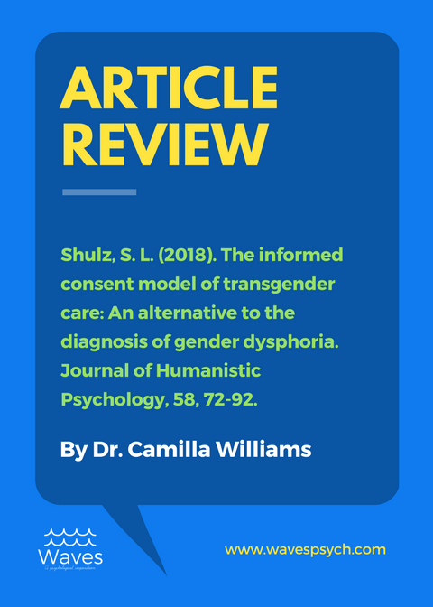 Dr. Camilla - keeps us informed on the latest research