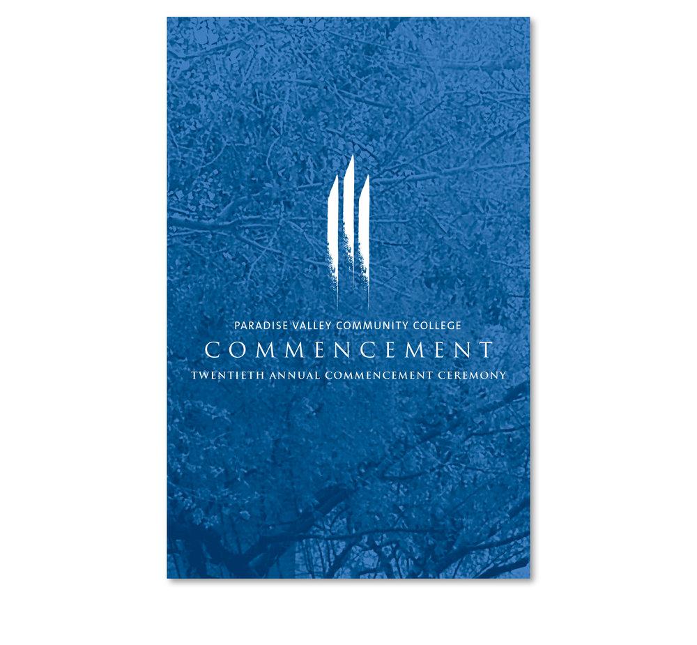 Commencement Program and Logomark