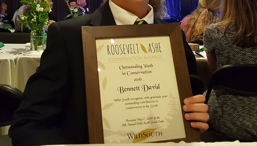Roosevelt-Ashe Outstanding Youth in Conservation