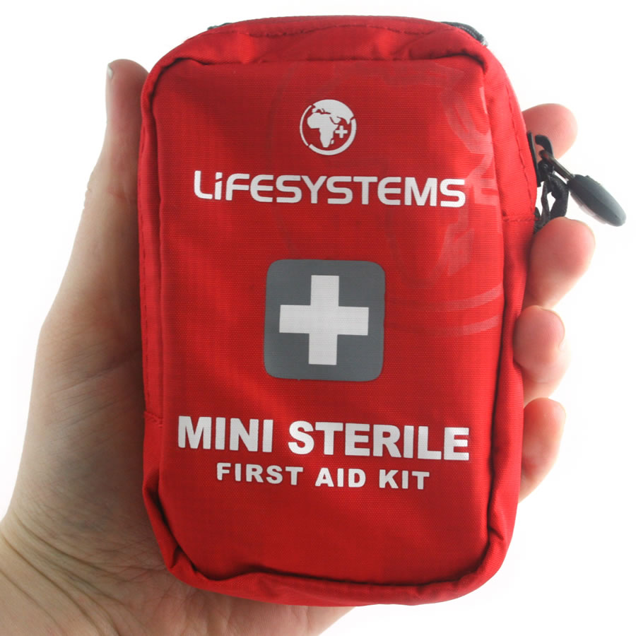 First Aid Kit - Nobody wants accidents to happen but they do happen. It's good to be prepared!