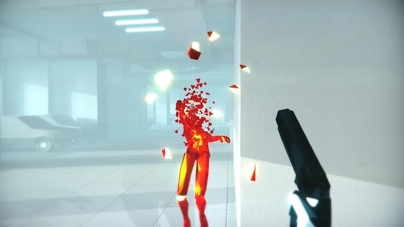 全身を使ったプレイの楽しさと、詰将棋のような思考がうまくいったときの気持ちよさ。『SUPERHOT VR』は、体も頭もフル稼働させる体感型VRシューターだった。--jp.playstation.com