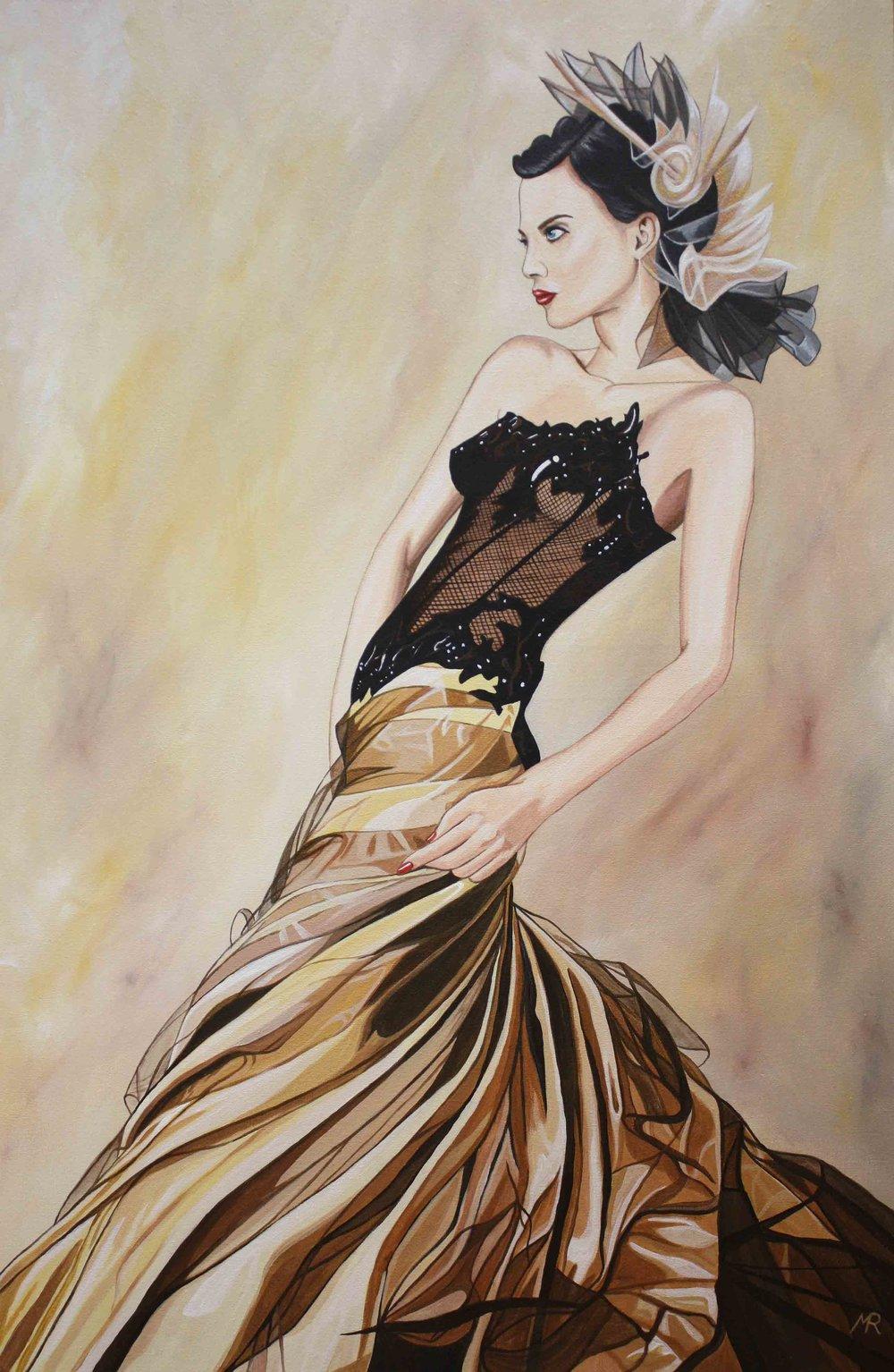 Golden Dress II