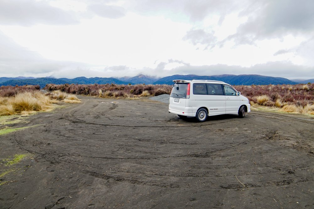 Lunch Stop; Tongariro Crossing